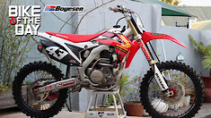 Bike Of The Day: 2014 Honda CRF250R