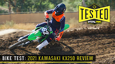 Bike Test: 2021 Kawasaki KX250 Review