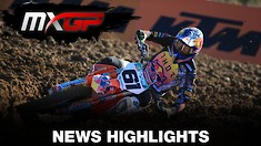 Video Highlights: MXGP of Spain