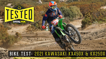 Bike Test: 2021 Kawasaki KX450X and KX250X