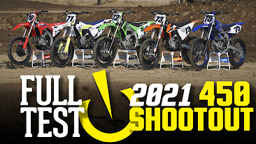 2021 Vital MX 450 Shootout: FULL TEST