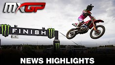 Video Highlights: MXGP of Lommel