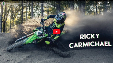Ricky Carmichael Back On A PC Kawasaki!