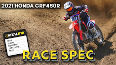 RACE SPEC: 2021 Honda CRF450R