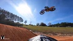 Onboard: Joey Crown - Supercross Practice at ClubMX