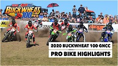 Buckwheat 100 GNCC Pro Bike Highlights
