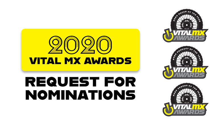 Third Annual Vital MX Awards: Request for Nominations