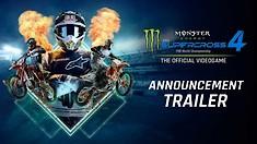 Monster Energy Supercross 4: The Video Game - Announcement Trailer