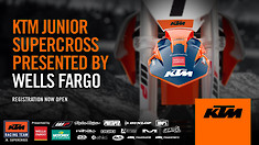 KTM North America Adds Wells Fargo as a Supporting Partner of KTM Junior Racing SX