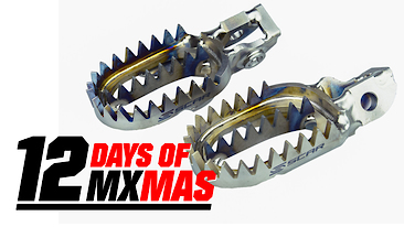 12 Days of MXmas: Scar Racing Titanium Gripper Footpegs