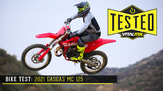 Bike Test: 2021 GASGAS MC 125 Review