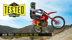 Bike Test: 2021 GASGAS MC 450F Review