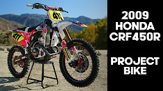 """Funny Car"" To Race Machine - 2009 Honda CRF450R"