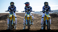 Suzuki Announces 450 Supercross Race Team for 2021