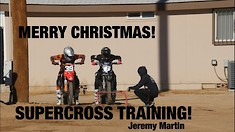 Carson Mumford's Vlog - SX Practice with Jeremy Martin