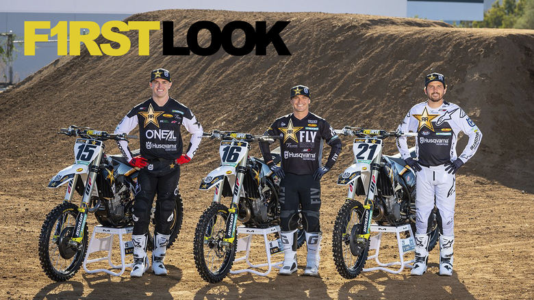 First Look: 2021 Husqvarna Supercross Race Teams
