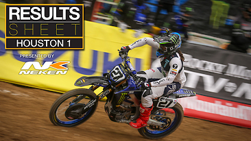 Results Sheet: Houston 1 Supercross