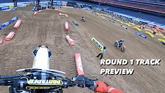 Dean Wilson's Vlog - Houston 1 SX Press Day