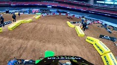 Onboard: Adam Cianciarulo - Houston 1 SX Track Preview
