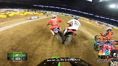 Onboard: Adam Cianciarulo - Houston 1 Supercross