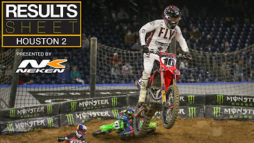 Results Sheet: Houston 2 Supercross