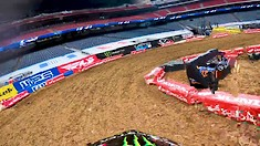 Onboard: Malcolm Stewart - Houston 2 Supercross Track Preview