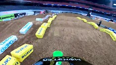 Onboard: Adam Cianciarlo - Houston 3 SX Track Preview