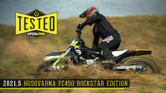 Bike Test: 2021.5 Husqvarna FC450 Rockstar Edition Review