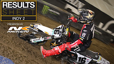 Results Sheet: Indianapolis 2 Supercross