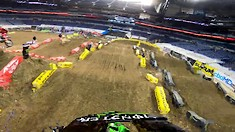 Onboard: Adam Cianciarlo - Indianapolis 3 SX Track Preview