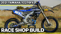 Race Shop Build: 2021 Yamaha YZ270FX