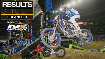 Results Sheet: Orlando 1 Supercross