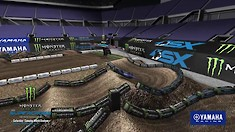 Animated Track Map: Orlando 2 Supercross