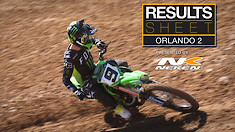 Results Sheet: Orlando 2 Supercross