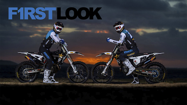 First Look: 2021 Rockstar Husqvarna Factory Racing MXGP Team