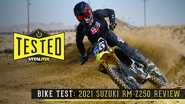 Bike Test: 2021 Suzuki RM-Z250 Review