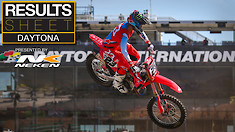 Results Sheet: Daytona Supercross