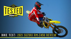Bike Test: 2021 Suzuki RM-Z450 Review