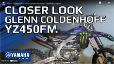 Coldenhoff's 2021 Yamaha Factory YZ450FM