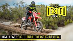 Bike Test: 2021 Honda CRF450RX Review
