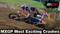 Crash Compilation: 2020 MXGP World Championship