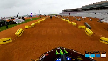 Onboard: Malcolm Stewart - Atlanta 1 SX Track Preview
