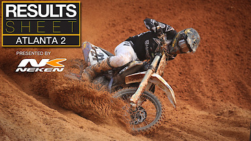 Results Sheet: Atlanta 2 Supercross