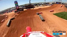 Onboard: Broc Tickle - Atlanta 2 SX Track Preview