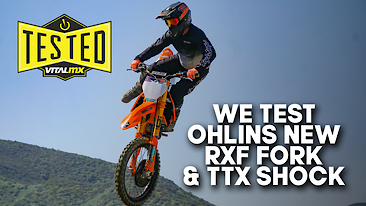 We Test Ohlins New RXF Fork and TTX Shock