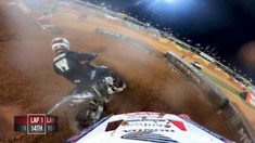Onboard: Broc Tickle - Atlanta 2 Supercross