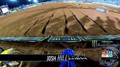 Onboard: Josh Hill & Max Anstie - Atlanta 3 Supercross