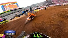 Onboard: Malcolm Stewart - Salt Lake City 1 Supercross