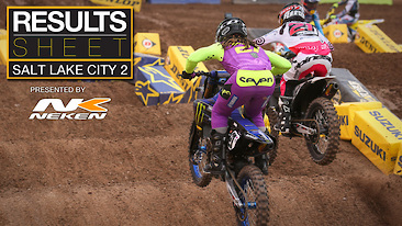Results Sheet: Salt Lake City 2 Supercross