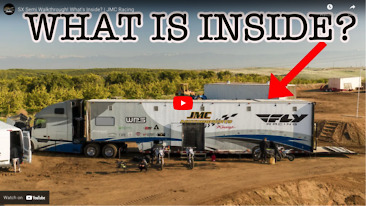 SX Semi Walkthrough! What's Inside? | JMC Racing